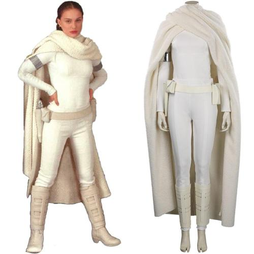 Star Wars Padme Naberrie Amidala Cosplay Costume Outfits Halloween Carnival Suit