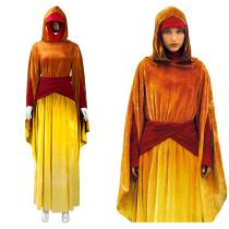 Star Wars: Episode I - The Phantom Menace Padmé Amidala Cosplay Costume Outfits Halloween Carnival Suit