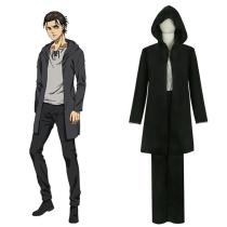 Attack on Titan Eren Yeager Cosplay Costume  Halloween Carnival Suit