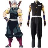 Anime Demon Slayer Tengen Uzui Cosplay Costume Outfits Halloween Carnival Suit