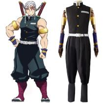 Anime Demon Slayer Tengen Uzui Cosplay Costume Outfits Halloween Carnival Suit