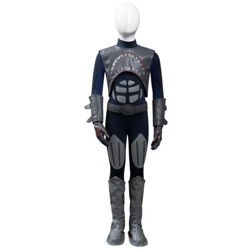 The Adventures of Shark Boy & Lava Girl - Shark Boy Cosplay Costume Jumpsuit Outfits Halloween Carnival Suit
