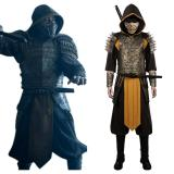 Mortal Kombat Hanzo Hasashi/Scorpion Cosplay Costume Outfits Halloween Carnival Suit