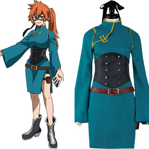 Anime My Hero Academia S5 Kendo Itsuka Cosplay Costume Outfits Halloween Carnival Suit