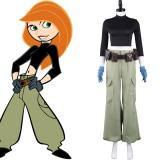 Anime Kim Possible Cosplay Costume Outfits Halloween Carnival Suit