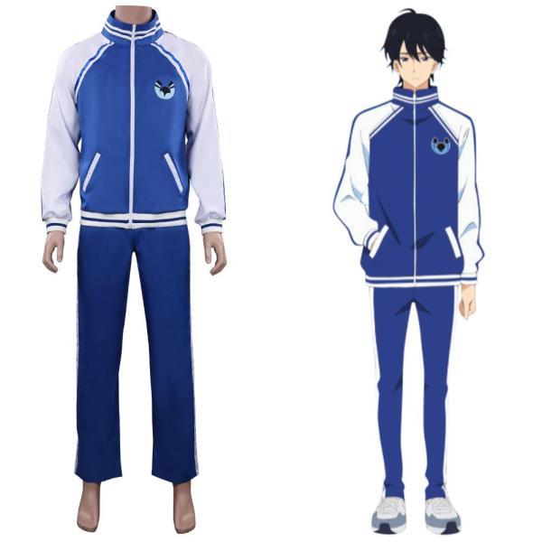 Anime Bakuten/Backflip!! Ryouya Misato Cosplay Costume Outfits Halloween Carnival Suit