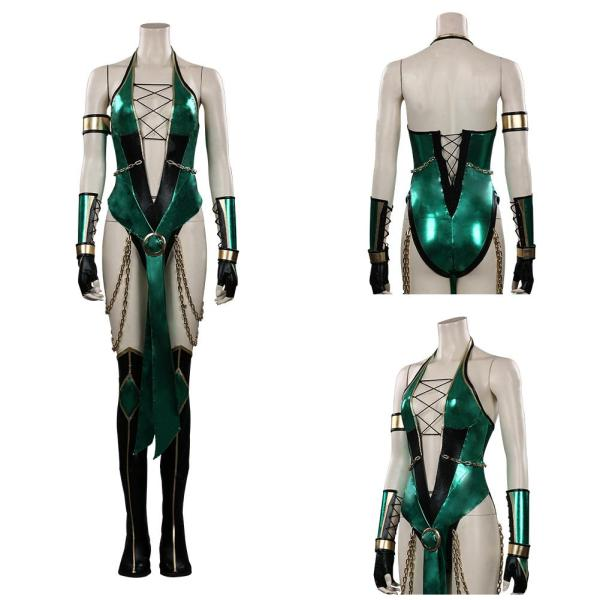 Mortal Kombat Jade Cosplay Costume Outfits Halloween Carnival Suit