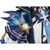 Game Genshin Impact Eula Cosplay Costume Outfits Halloween Carnival Suit