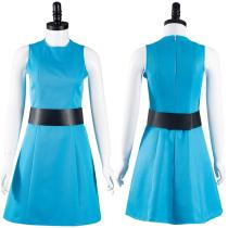 The Powerpuff Girls-Bubbles Cosplay Costume Outfits Halloween Carnival Suit