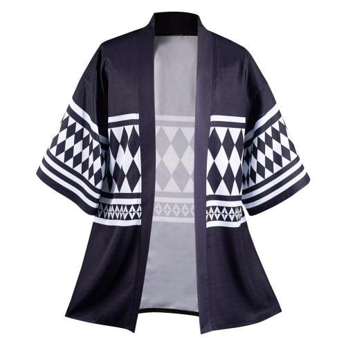 Tokyo Revengers Kenryuguji Cloak Kimono Cardigan Robe Coat Cospaly Costume Halloween Carnival Suit
