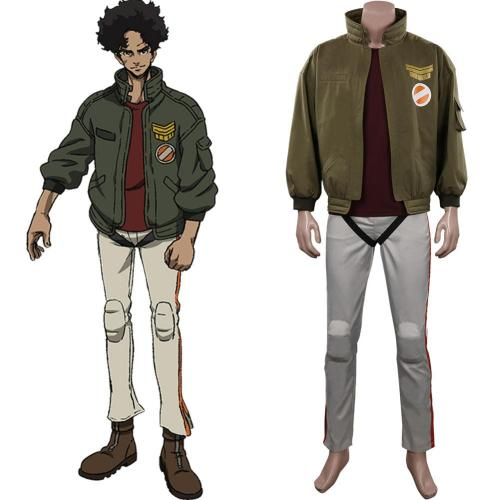 Megalo Box 2 Junk Dog Cosplay Costume Outfits Halloween Carnival Suit