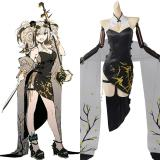 Arknights Ambience Synesthesia FEatet Cosplay Costume Cheongsam Outfits Halloween Carnival Suit