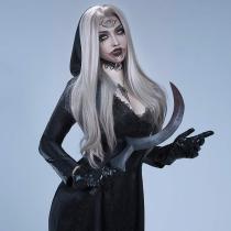 Resident Evil Village Vampire Dimitrescu's Daughter wig