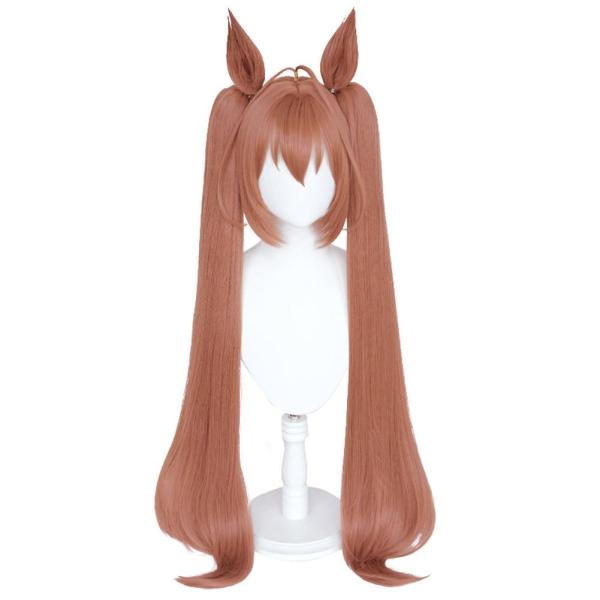 Pretty Derby  Daiwa Scarlet  Cosplay Wig Heat Resistant Synthetic Hair Carnival Halloween Party Props