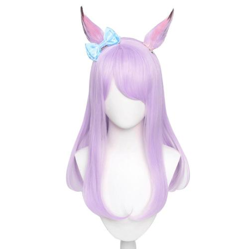 Pretty Derby Mejiro McQueen Cosplay Wig Heat Resistant Synthetic Hair Carnival Halloween Party Props