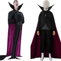 Kids Children Hotel Transylvania Dracula Cosplay Costume Outfits Halloween Carnival Suit