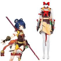 Genshin Impact Xiangling Cosplay Costume Outfits Halloween Carnival Suit