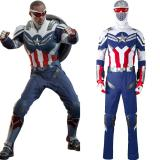 The Falcon and the Winter Soldier -The Falcon Cosplay Costume Outfits Halloween Carnival Suit