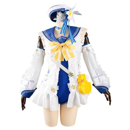 Genshin Impact Barbara Cosplay Costume Outfits Halloween Carnival Suit