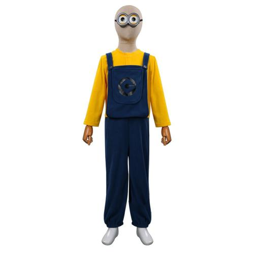 Minions: The Rise of Gru Minions Cosplay Costume Outfits Kids Children Halloween Carnival Suit