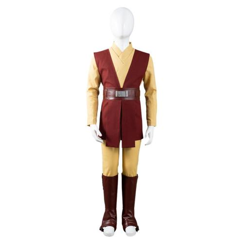 Star Wars: The Bad Batch Caleb Dume Cosplay Costume Outfits Kids Jedi Knight Robe Halloween Carnival Suit