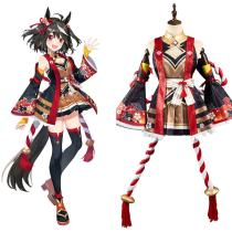 Anime Pretty Derby Kitasan Black Cosplay Costume Outfits Halloween Carnival Suit
