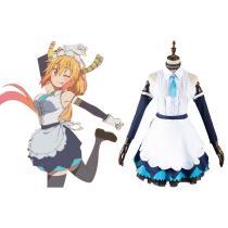 Miss Kobayashi's Dragon Maid Toru Cosplay Costume Skirt Outfits Halloween Carnival Suit