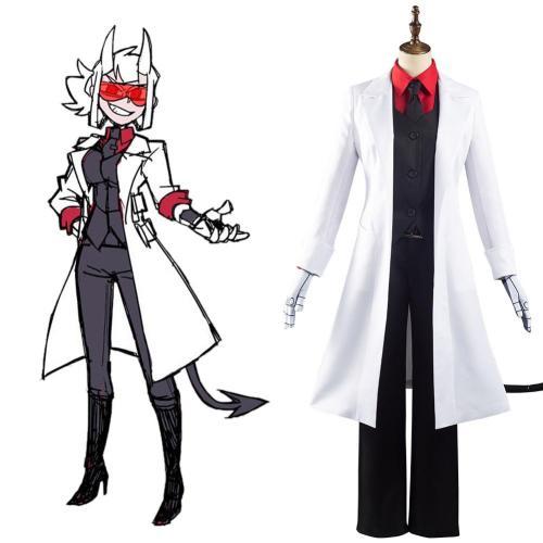 Helltaker Loremaster/Azazel Cosplay Costume Outfits Halloween Carnival Suit