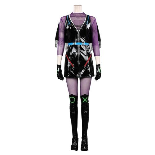 DC Alexis Kaye Cosplay Costume Outfits Halloween Carnival Suit