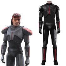 Star Wars: The Bad Batch Cosplay Costume Jumpsuit Outfits Halloween Carnival Suit