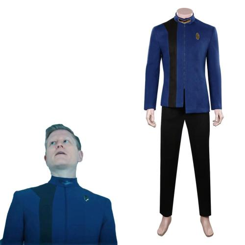 Star Trek: Discovery Season 4  Cosplay Costume Blue  Uniform Outfits Halloween Carnival Suit