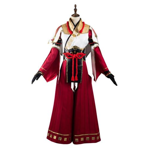 Monster Hunter Rise Minoto Cosplay Costume Outfits Halloween Carnival Suit