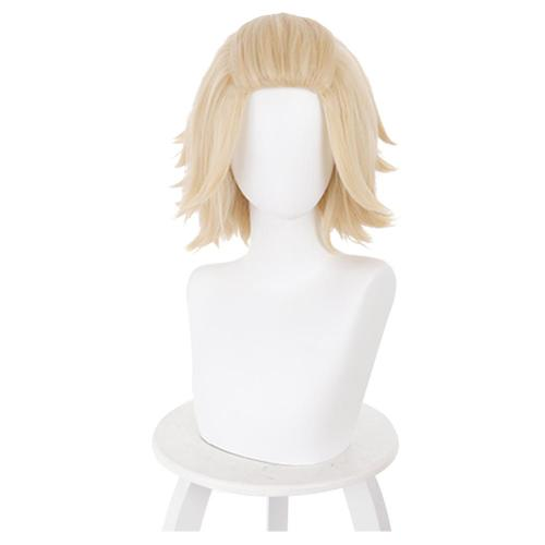 Anime Tokyo Revengers Manjirou Sano Cosplay Wig Heat Resistant Synthetic Hair Carnival Halloween Party Props