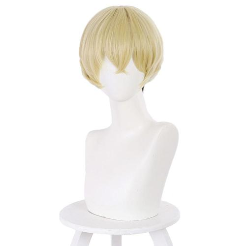 Anime Tokyo Revengers Chifuyu Matsuno Cosplay Wig Heat Resistant Synthetic Hair Carnival Halloween Party Props