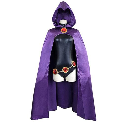 Teen Titans Raven Cosplay Costume Outfits Halloween Carnival Suit