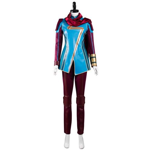 Ms. Marvel Kamala Khan Cosplay Costume Outfits Halloween Carnival Suit