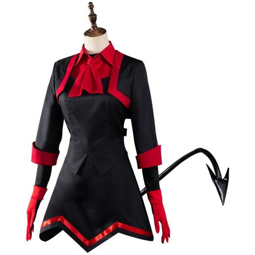 Helltaker Lucifer The Maid Demon Cosplay Costume Outfits Halloween Carnival Suit