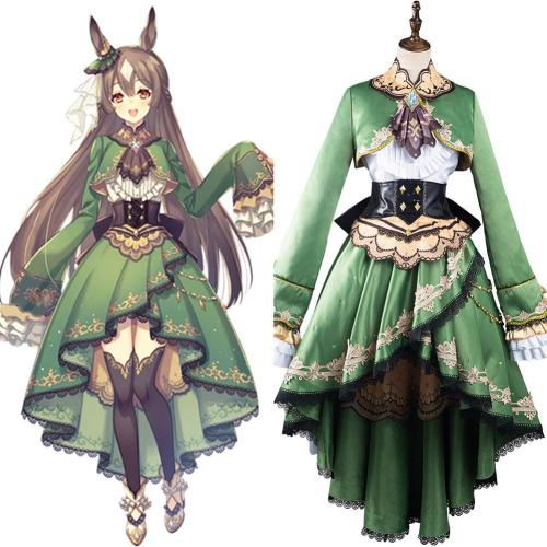 Pretty Derby Satono Diamond Cosplay Costume Outfits Halloween Carnival Suit