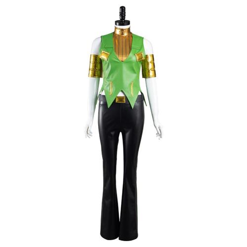JoJo's Bizarre Adventure Ermes Costello Cosplay Costume Outfits Halloween Carnival Suit