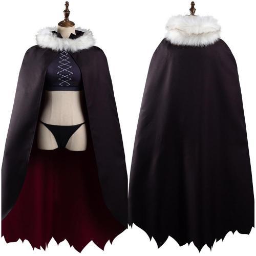Miss Kobayashi's Dragon Maid Ilulu Cosplay Costume Outfits Halloween Carnival Suit