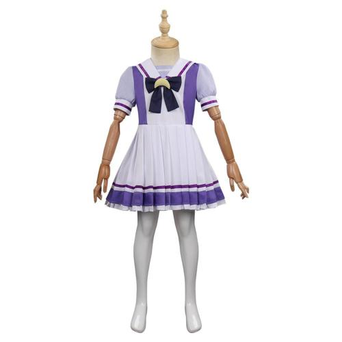 Children Kids Pretty Derby Cosplay Costume Uniform Dress Outfits Halloween Carnival Suit
