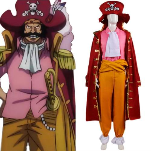 One Piece Gol·D·Roger Cosplay Costume Halloween Carnival Suit