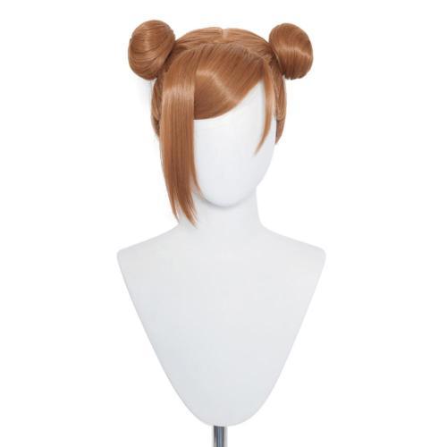 Jujutsu Kaisen Kugisaki Nobara Cosplay Wig Heat Resistant Synthetic Hair Carnival Halloween Party Props