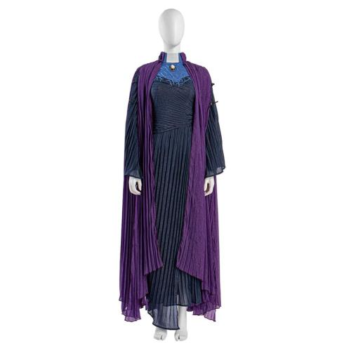 WandaVision Agatha Harkness Cosplay Costume Uniform Dress Outfits Halloween Carnival Suit