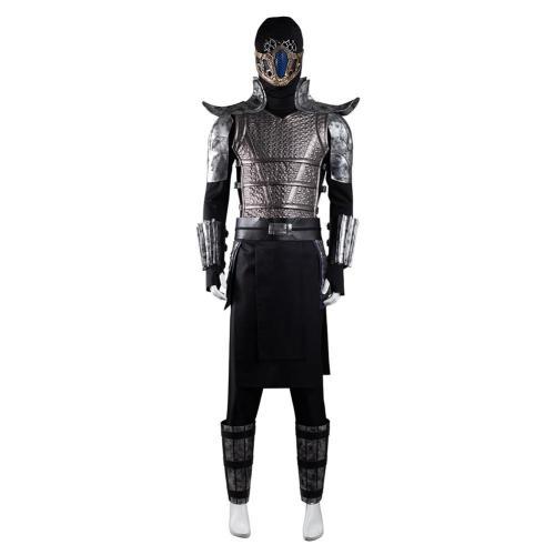 Mortal Kombat Sub-Zero Cosplay Costume Outfits Halloween Carnival Suit
