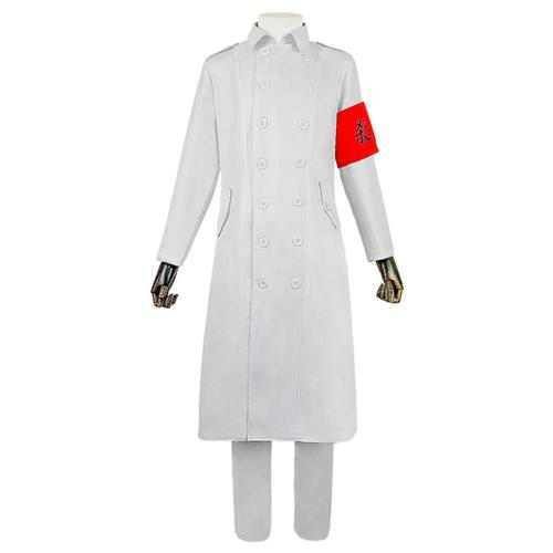 Anime Tokyo Revengers Tokyo Manji Gang Cosplay Costume White Uniform Outfits Halloween Carnival Suit