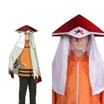 NARUTO Boruto Uzumaki Naruto Cosplay Hat Cap Costume  Accessories Halloween Carnival Suit