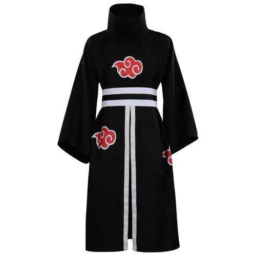 Naruto Akatsuki Cosplay Costume Kimono Outfits Halloween Carnival Suit