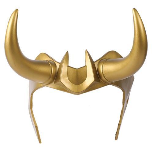 Loki  Cosplay PVC Headwear Headband Helmet Masquerade Halloween Party Costume Props