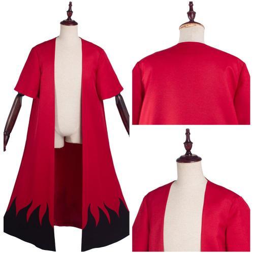 Naruto Uzumaki Cloak Kimono Cardigan Cosplay Costume Robe Cospaly Halloween Carnival Suit